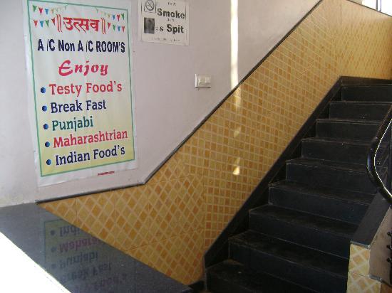 Hotel Utsav: Food is ok