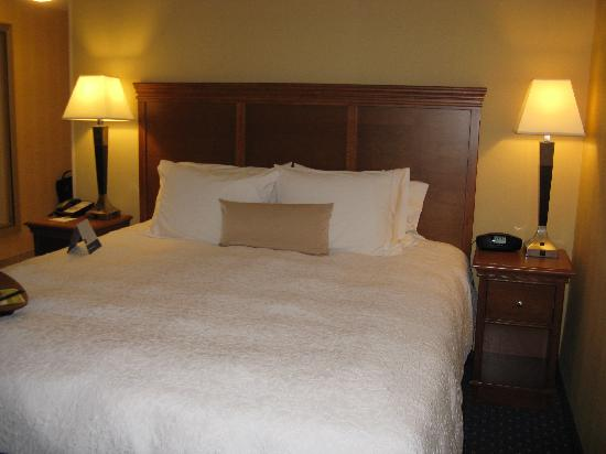 Hampton Inn Ellsworth / Bar Harbor: Ellsworth Hampton King Bed