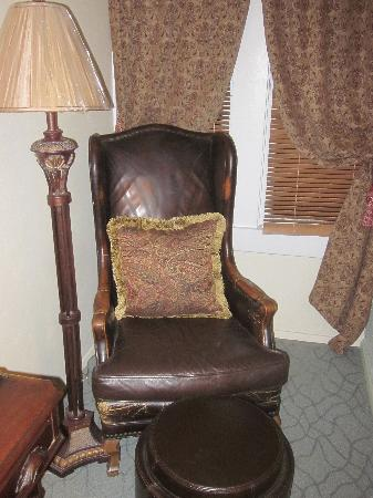 The Big Blue House Tucson Boutique inn: chair in the room