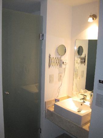 Wyndham Garden Irapuato: baño