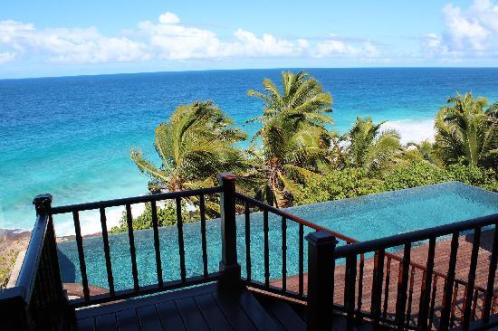 Fregate Island Private: View of deck