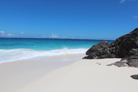 Fregate Island Private: View of beach