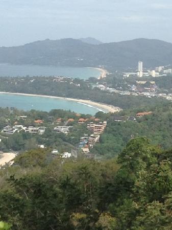 Kamala Beach: view