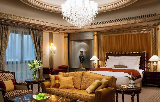 A Royal Suite Bedroom at the Ritz-Carlton, Riyadh