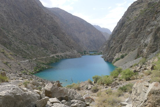Marguzor, Tajikistan: 5th lake of Seven lake