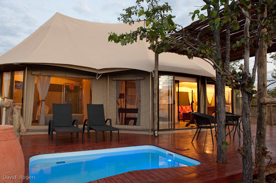 The Elephant Camp: Luxury Tented Accommodation