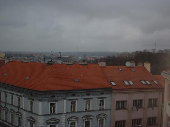 Hotel Victoria: Looking north across Seifertova