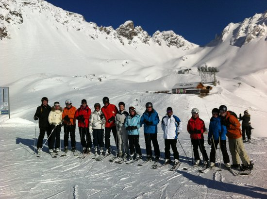Hotel Arlberghaus: Mr Eggler led us around on a Day out
