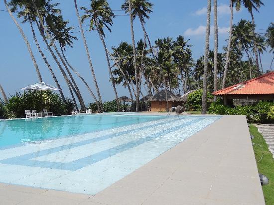 Saffron Beach Hotel Wadduwa: großer Pool