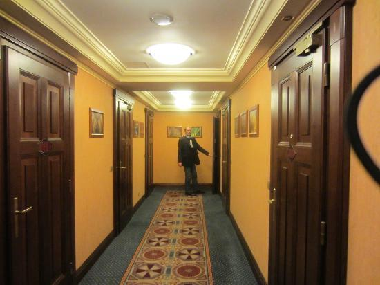 Fifth floor corridor picture of art deco imperial hotel prague