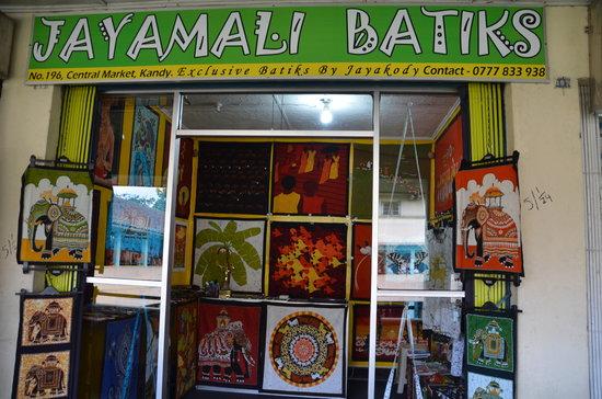 Jayamali Batiks Studio Photo
