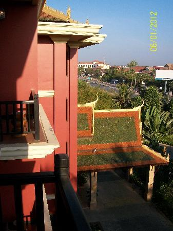 Apsara Holiday Hotel: view from my room