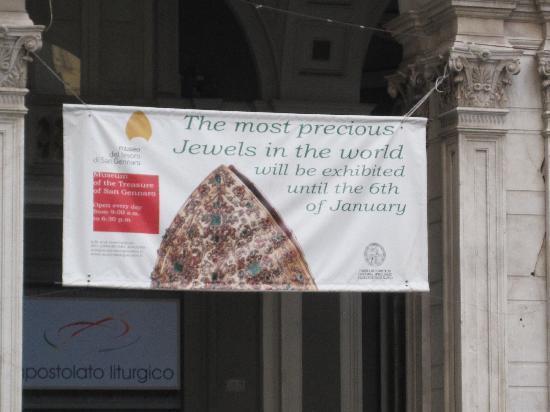 Museo del Tesoro di San Gennaro: ingresso al Museo