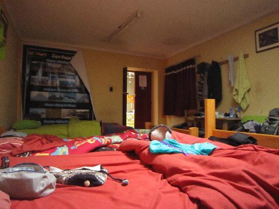 Samanapata Comfort Hostel: ドミの写真です。
