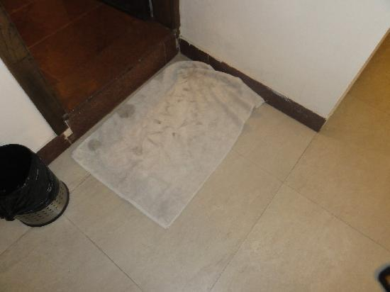 Hotel Crystal Retreat: floor mat