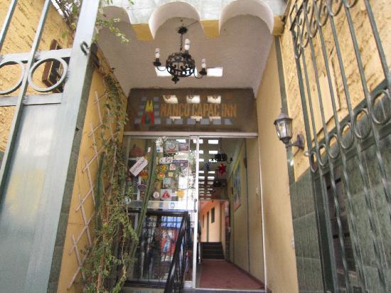 Manco Capac Inn: ホテルの入り口です!