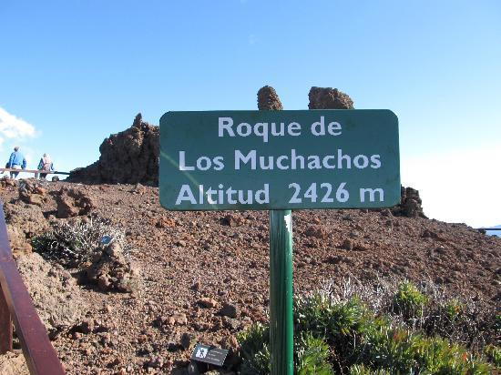 Instituto de Astrofisica de Canarias : Sign at the top