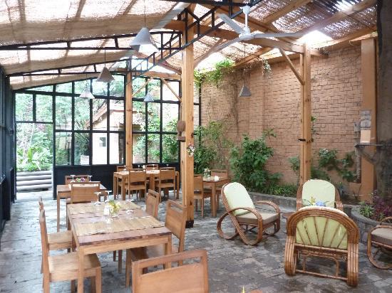 Le Combava : La salle de restaurant