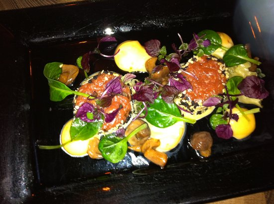 Griffins Steakhouse: Steak Tartar