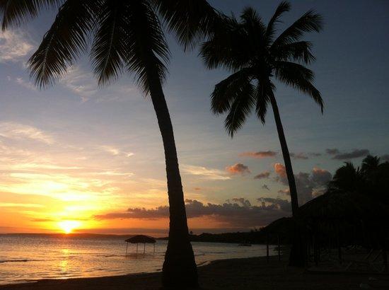 Restaurante Alexandra : Sunset at the beach by Alexandras Restaurant