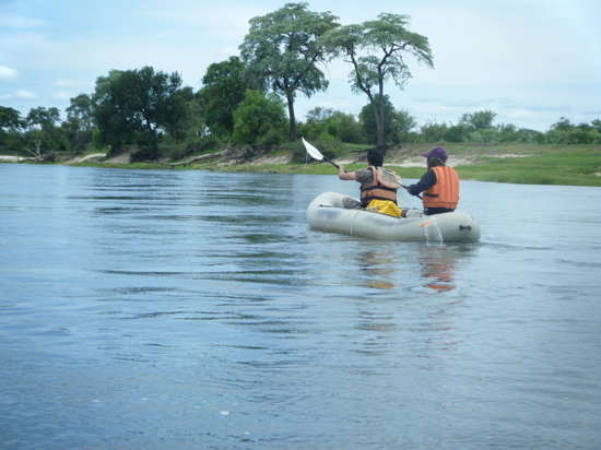 Wild Horizons : Calculating the route through the rapids