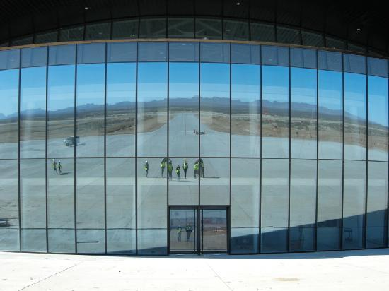"Truth or Consequences, NM: Front of the ""Gateway to Space"" Spaceport."