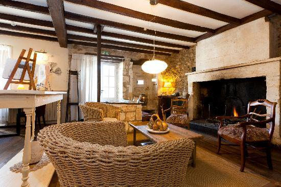 Hotel-restaurant Les Jardins de Brantome : la salle
