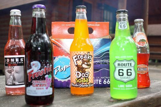Pops: PYO6P -  Pick your own 6 pack of pop