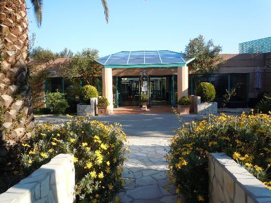 Media Garden Hotel: Entrée de l'hôtel