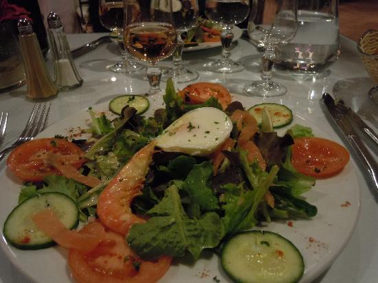 Media Garden Hotel: La salade océane