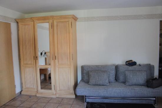 Landhotel Guglhupf: Раскладной диван