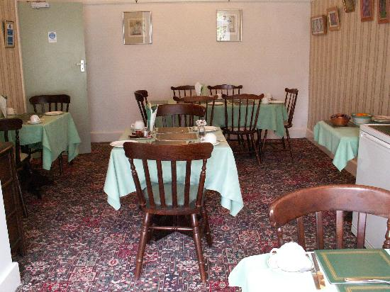 Moorhayes House: Breakfast room