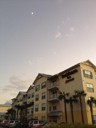 Residence Inn Cape Canaveral Cocoa Beach: Residence Inn, Cape Canaveral, and anice half moon