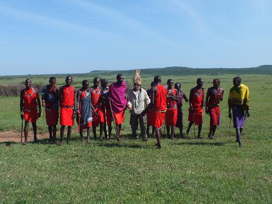 Entim Camp: Dancing with the Maasai warriors