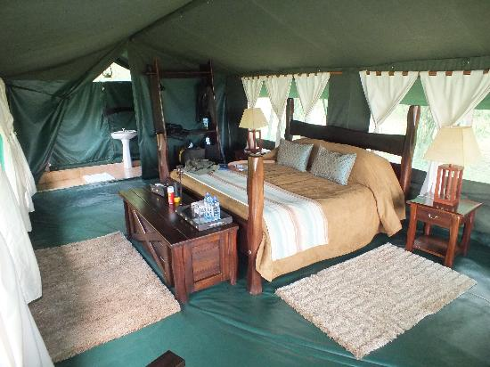 Entim Camp: Inside our luxury tent!