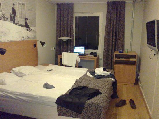 Best Western Plus Kalmarsund Hotell : Vista Habitacion