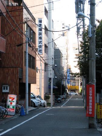 K's House Tokyo: Near the hostel entrance