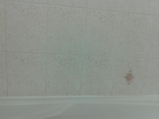 BEST WESTERN PLUS Ottawa Kanata Hotel & Conference Centre: yellow streaks in bathroom