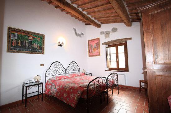 Castiglione D'Orcia, Italy: Stanza da letto