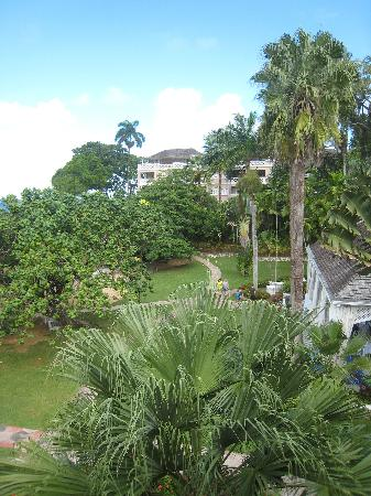 Couples Sans Souci: View of Resort from Balcony