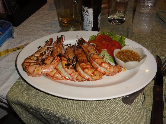 Sala Bua & Lo Spuntino Restaurant: gamberoni tiger