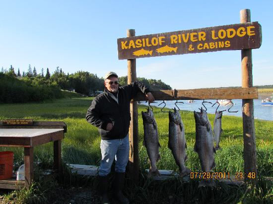 ‪‪Alaska Redfish Lodge‬: Kasilof River Kings‬