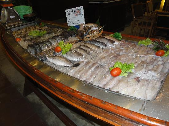 Sala Bua & Lo Spuntino Restaurant: banco del pesce fresco