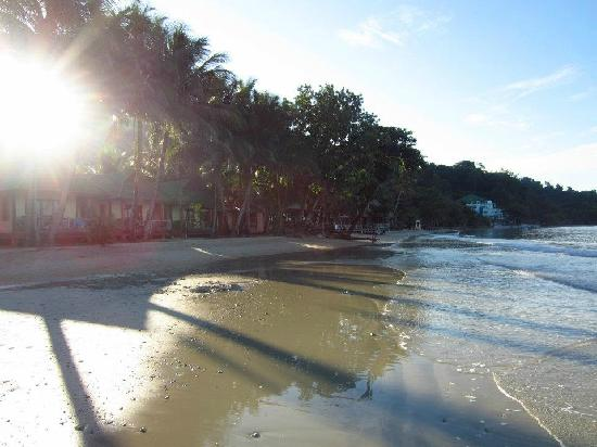 K.B. Resort: early morning beach