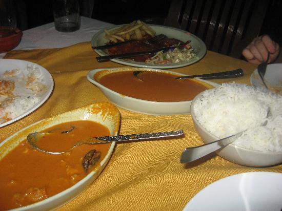 La Ben Resort: Delicious goan prawn curry