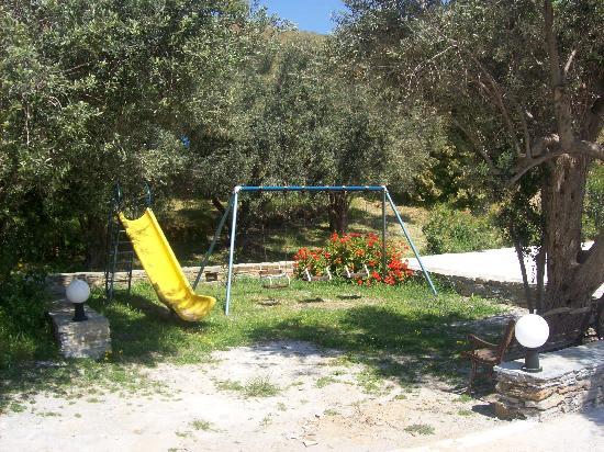 Vassiliki Studios & Family Apartments: playground