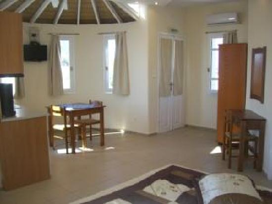Vassiliki Studios & Family Apartments: Interior view of Room 1