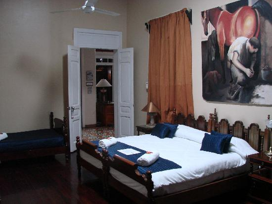 Posada de la Calle Real: Room #1, family size