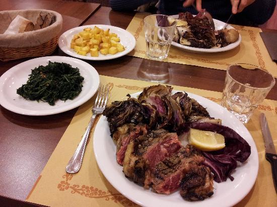 Osteria del Parco: carne argentina alla griglia