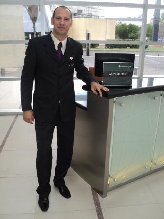 InterContinental Mendoza: Daniel Alonso - Concierge